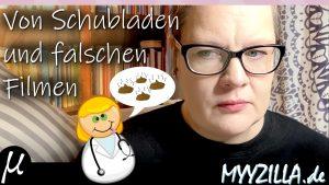 Thumbnail Youtubevideo ich Comic mit Ärztin