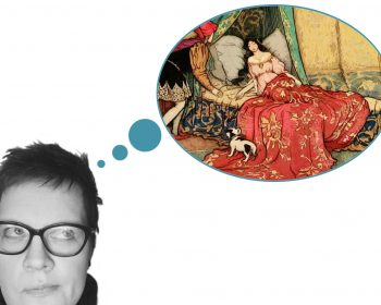 myyzilla mit Denkblase Prinzessin schläft